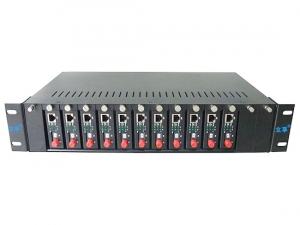 14槽光纤收发器机架