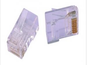 超五类非屏蔽RJ45水晶头