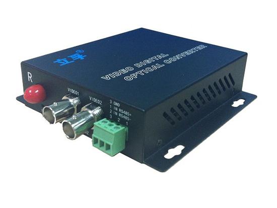 LF-2路全数字视音频光端机